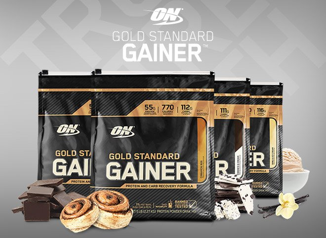 ON Gold Standard Gainer 4540 гр - 10lb