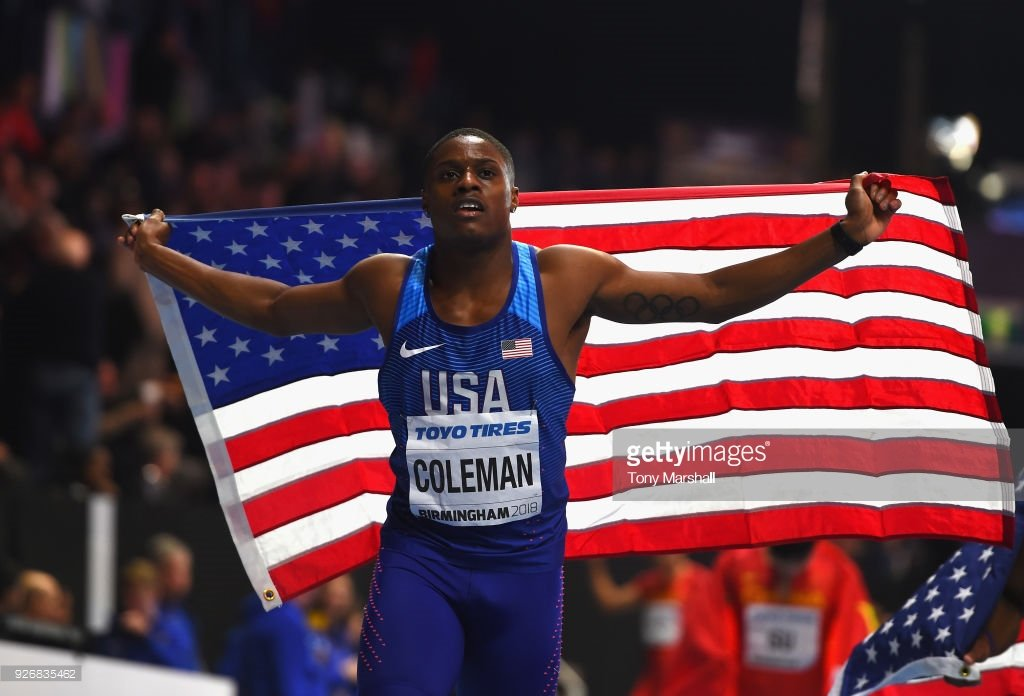 Американский легкоатлет Кристиан Коулман завоевал золото чемпионата мира в помещении в беге на 60 м +Видео