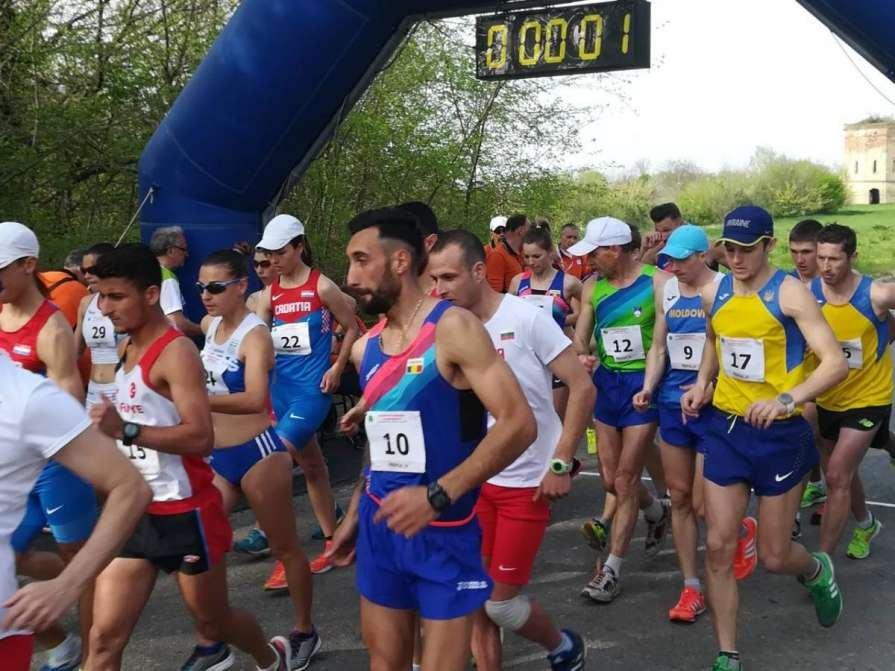 Украинские ходоки оформили победный дубль на международном турнире в Сербии