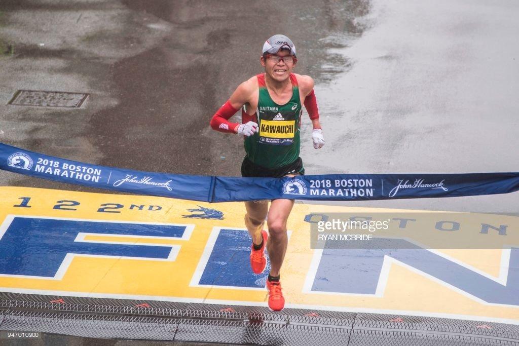 Юки Каваучи выиграл Бостонский марафон-2018