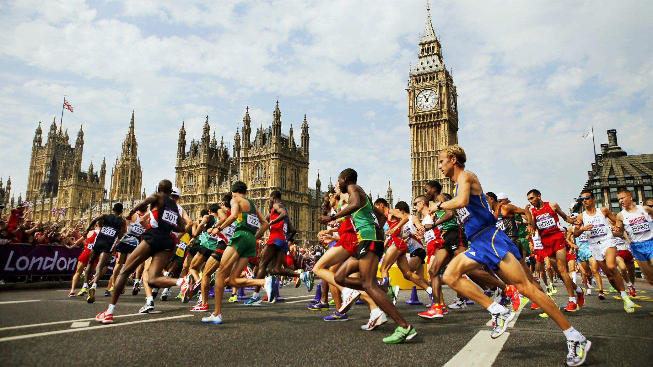 Факты о Лондонском марафоне