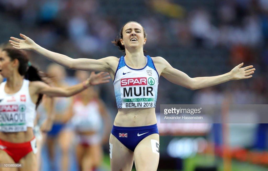 Британка Лаура Муир выиграла дистанцию 1500 метров на чемпионате Европы