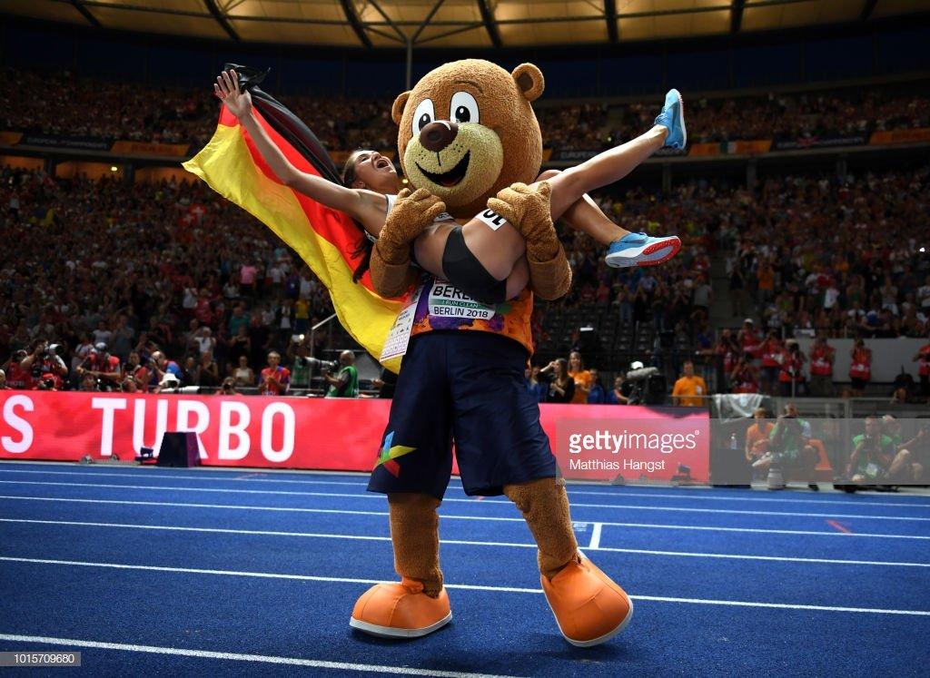 Немка Геса Фелицитас Краузе выиграла стипль-чез на чемпионате Европы